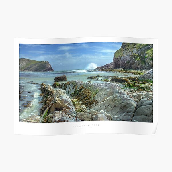 Lulworth Cove, Dorset Poster