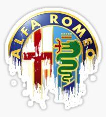 Alfa Romeo Sports car Sticker