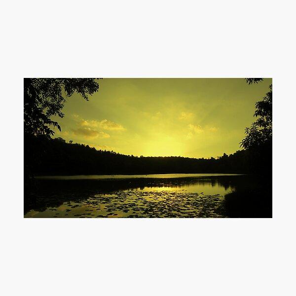 Lake SIngrauli Photographic Print