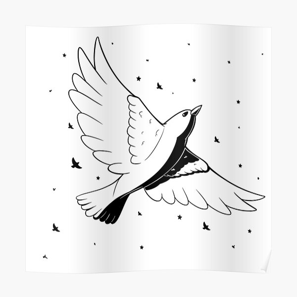 Starling Poster