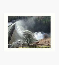 Feel The Force - Laggan Dam, Scotland Art Print
