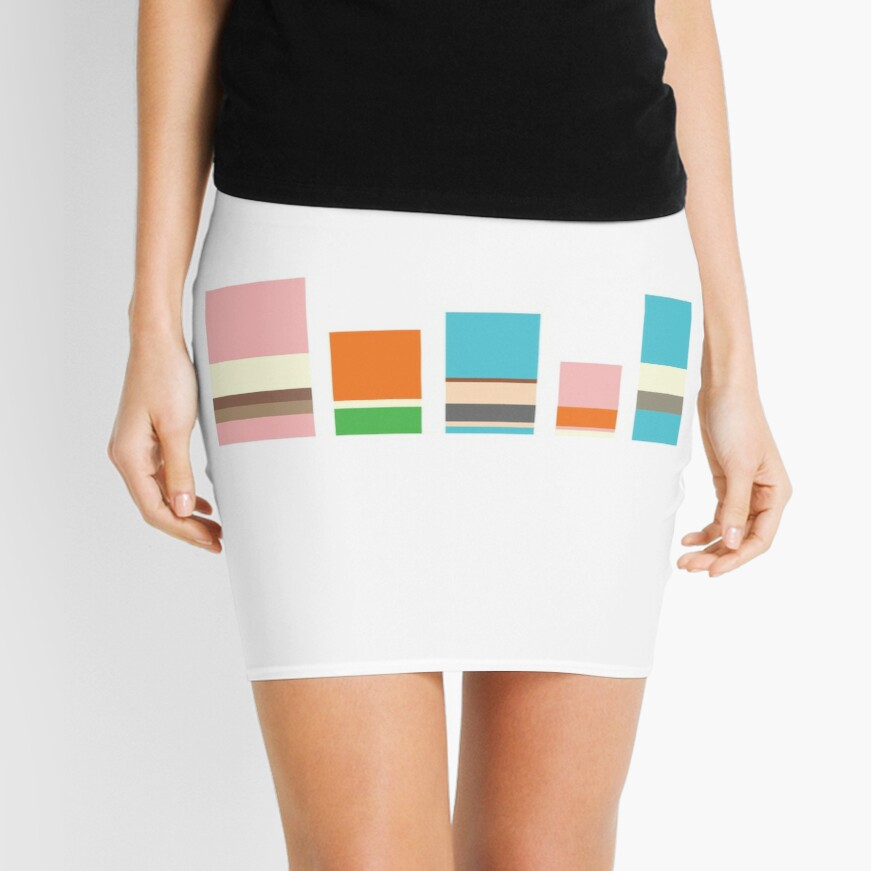 Minimalist Gumball Mini Skirt
