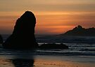 Bandon Sunset by Dave Davis