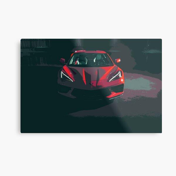 Chevrolet Corvette C8 Metal Print