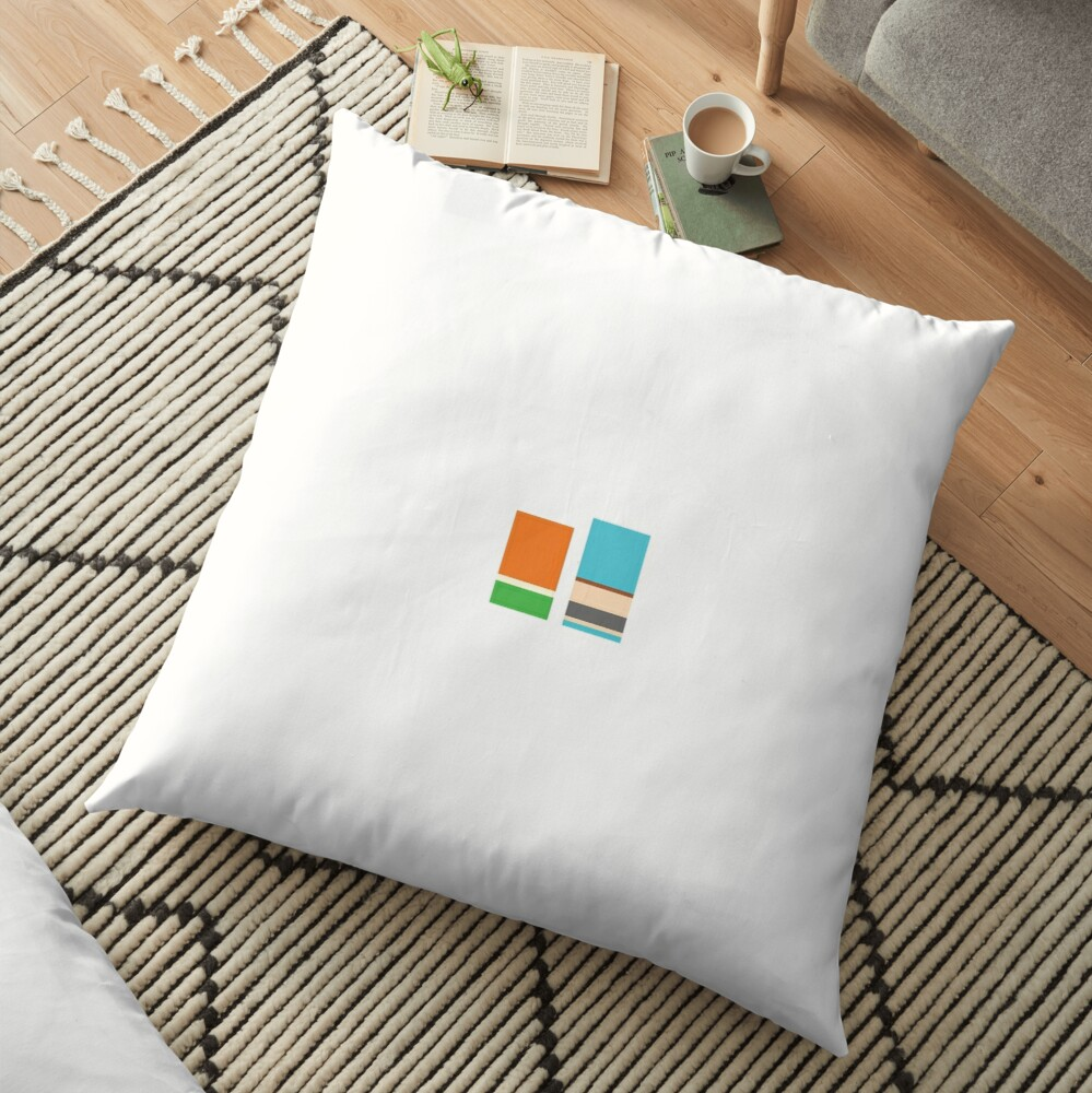 Minimalist Gumball Floor Pillow