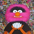 Self Portrait As Muppet by Adrienne Body