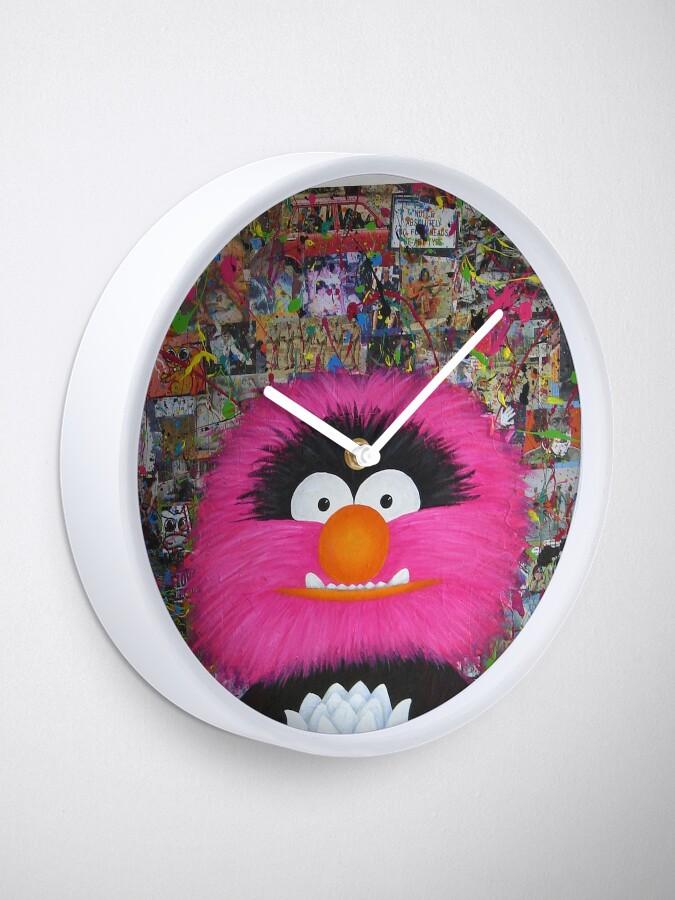 Alternate view of Self Portrait As Muppet Clock