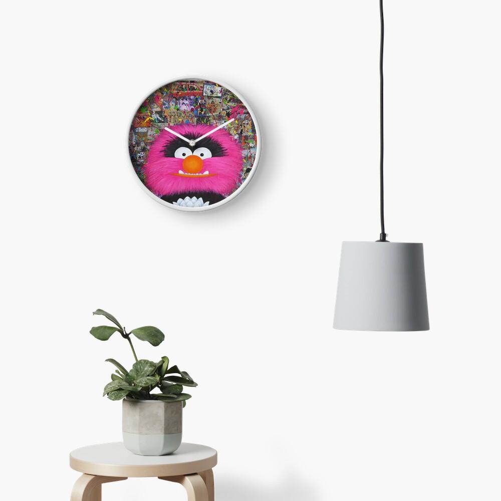 Self Portrait As Muppet Clock