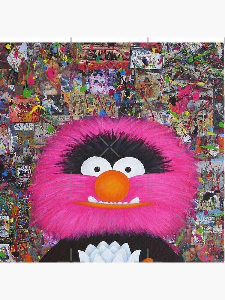 Self Portrait As Muppet by AdrienneBody