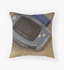 Gameboy Advance Throw Pillow