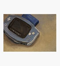 Gameboy Advance Photographic Print