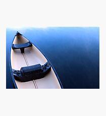 Canoe on Kennebec Lake, Arden Ontario Photographic Print