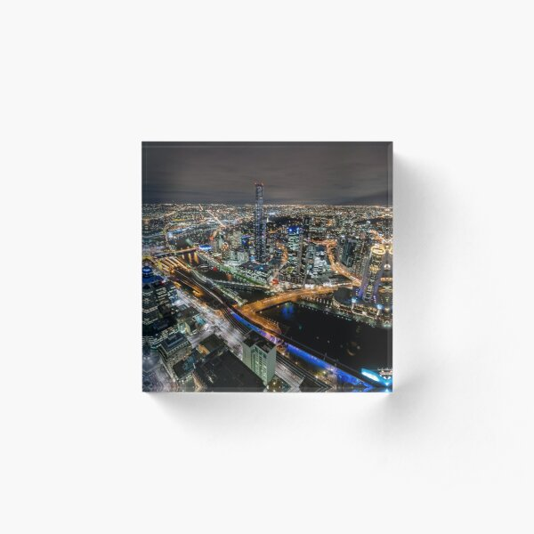 City Lights Acrylic Block
