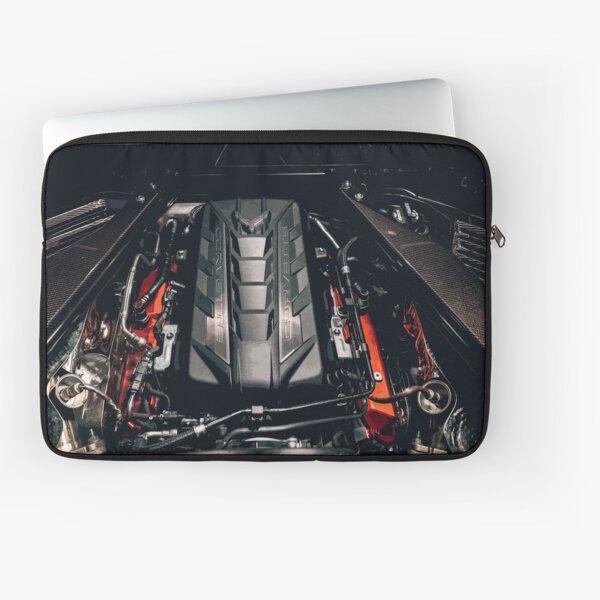 Chevrolet Corvette C8 Engine Laptop Sleeve