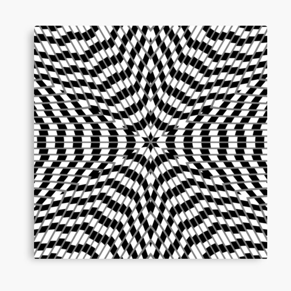 #OpArt, #visual #illusion, #VisualArt, opticalart, opticalillusion, opticalillusionart, opticalartillusion, psyhodelic, psichodelic, psyhodelicart Canvas Print