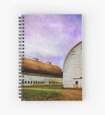 Nisqually Barns  Spiral Notebook