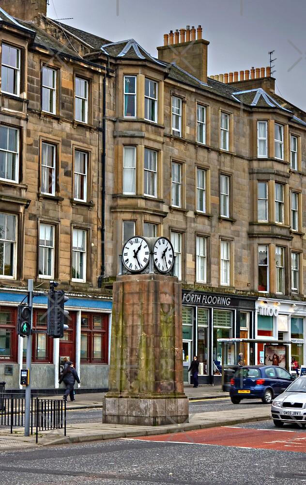 Canonmills Clock by Tom Gomez