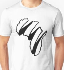 Simple Africa Design T-Shirt
