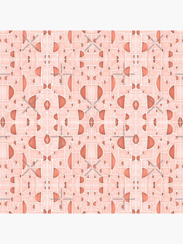 Kaleidoscopic Cretto #redbubble #pattern by designdn