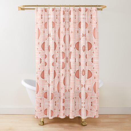 Kaleidoscopic Cretto #redbubble #pattern Shower Curtain