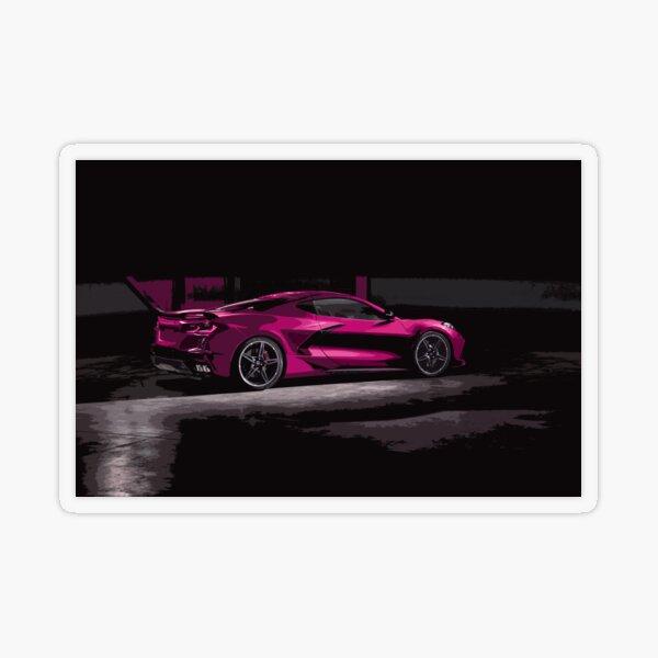 Chevrolet Corvette C8 Transparent Sticker