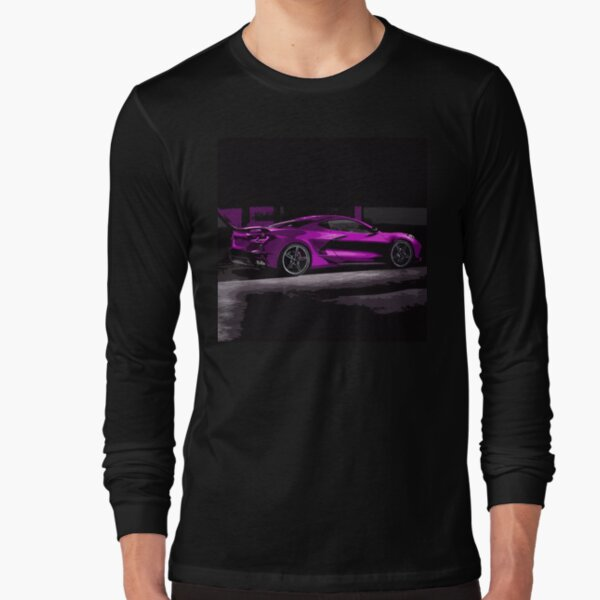 Chevrolet Corvette C8 Long Sleeve T-Shirt