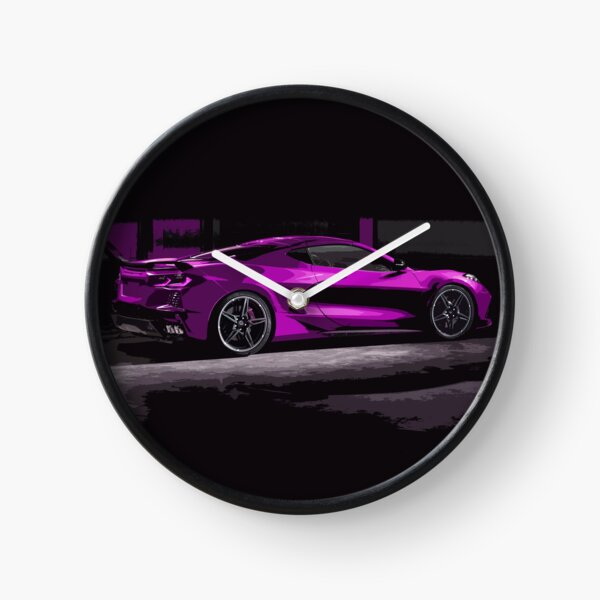 Chevrolet Corvette C8 Clock