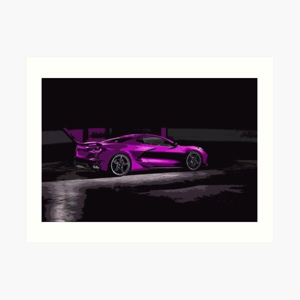 Chevrolet Corvette C8 Art Print