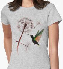 Dandelion and Little Green Hummingbird T-Shirt
