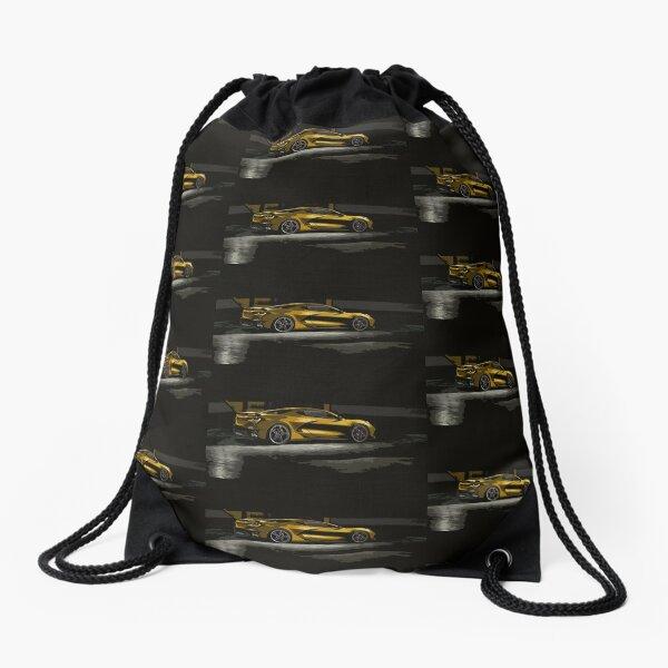 Chevrolet Corvette C8 Drawstring Bag