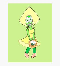 ✿ Flower girl Peridot ✿ Photographic Print