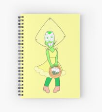 ✿ Flower girl Peridot ✿ Spiral Notebook