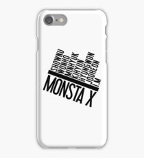 Monsta X Member Names List iPhone Case/Skin