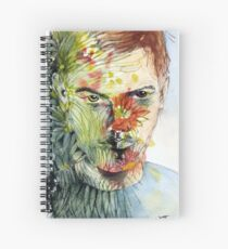 The Green Man Emerges Spiral Notebook