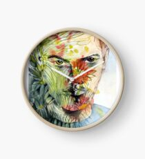 The Green Man Emerges Clock