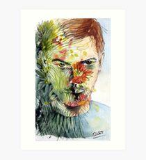 The Green Man Emerges Art Print