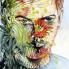 The Green Man Emerges by Pat  Elliott