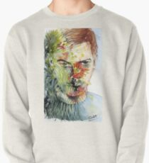The Green Man Emerges Pullover Sweatshirt