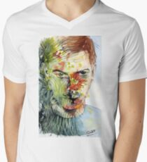 The Green Man Emerges V-Neck T-Shirt