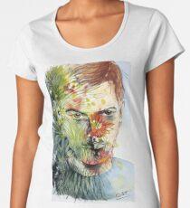 The Green Man Emerges Premium Scoop T-Shirt
