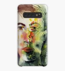 The Green Man Recedes Case/Skin for Samsung Galaxy