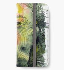 The Green Man Recedes iPhone Wallet/Case/Skin