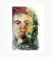 The Green Man Recedes Art Print