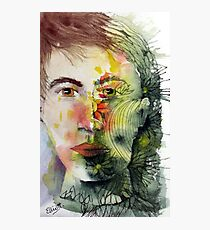 The Green Man Recedes Photographic Print