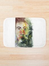 The Green Man Recedes Bath Mat