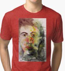 The Green Man Recedes Tri-blend T-Shirt