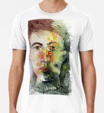 The Green Man Recedes Premium T-Shirt