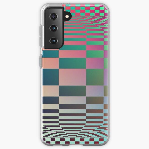 #OpArt, #visual #illusion, #VisualArt, opticalart, opticalillusion, opticalillusionart, opticalartillusion, psyhodelic, psichodelic, psyhodelicart Samsung Galaxy Soft Case