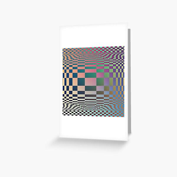 #OpArt, #visual #illusion, #VisualArt, opticalart, opticalillusion, opticalillusionart, opticalartillusion, psyhodelic, psichodelic, psyhodelicart Greeting Card
