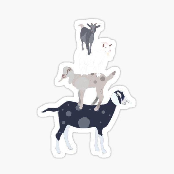 Goat Stack Sticker